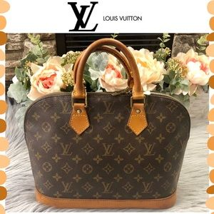 Authentic Louis Vuitton Monogram Alma bag